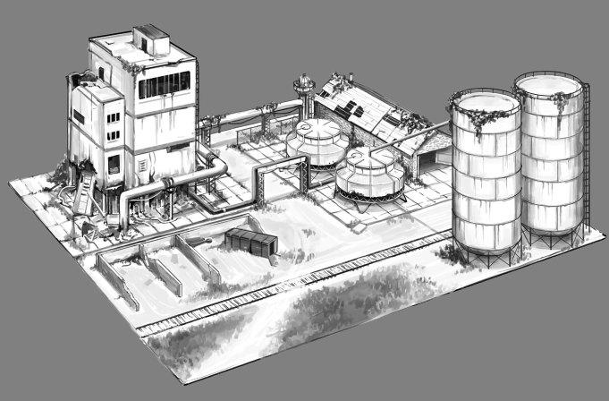 Изображание проекта модульного города