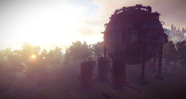 Сферический танкер 2.0 снаружи