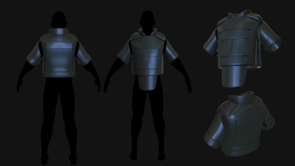 Изображение модели бронежилета