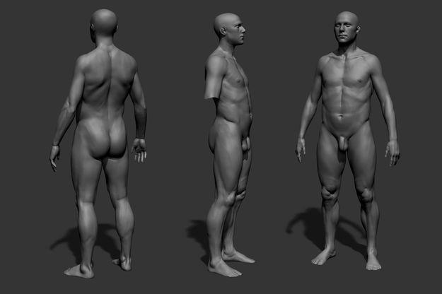 Фото мужского голого тела фото 424-908
